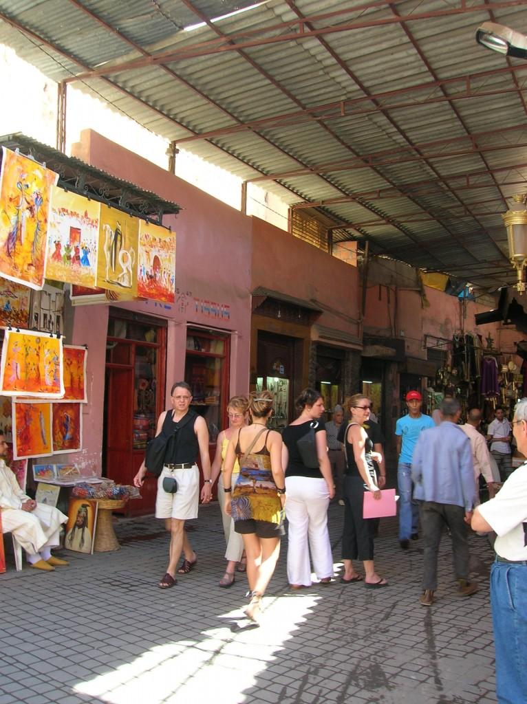 1er jour aux souks Marrakech