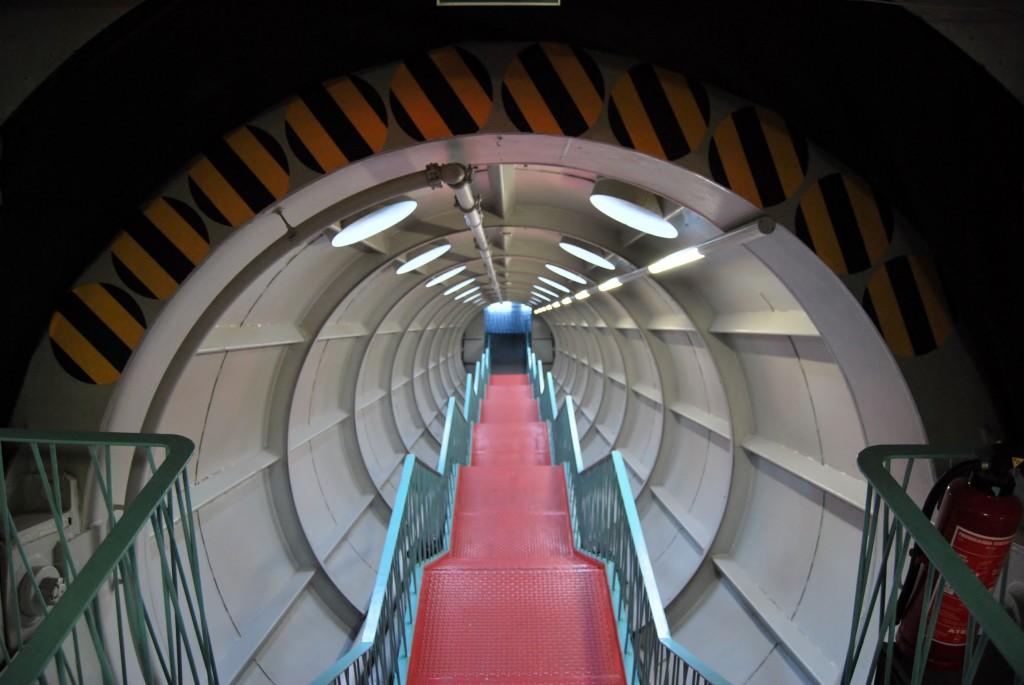 Escaliers de l'Atomium Bruxelles