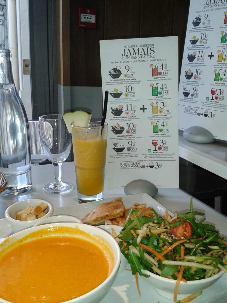paradis du fruit où manger à Paris