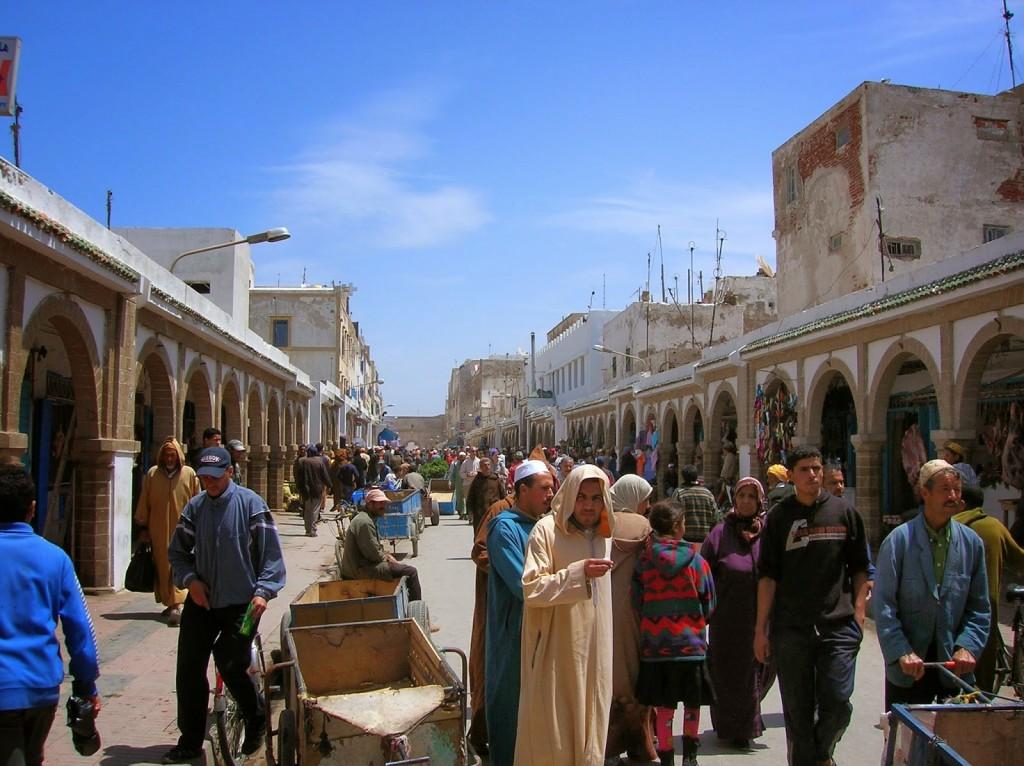souk Essaouira maroc