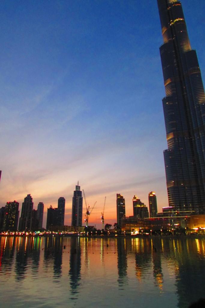 Burj Khalifa à Dubaï
