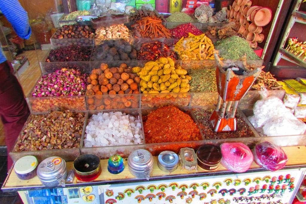 Le souk des épices à Dubaï