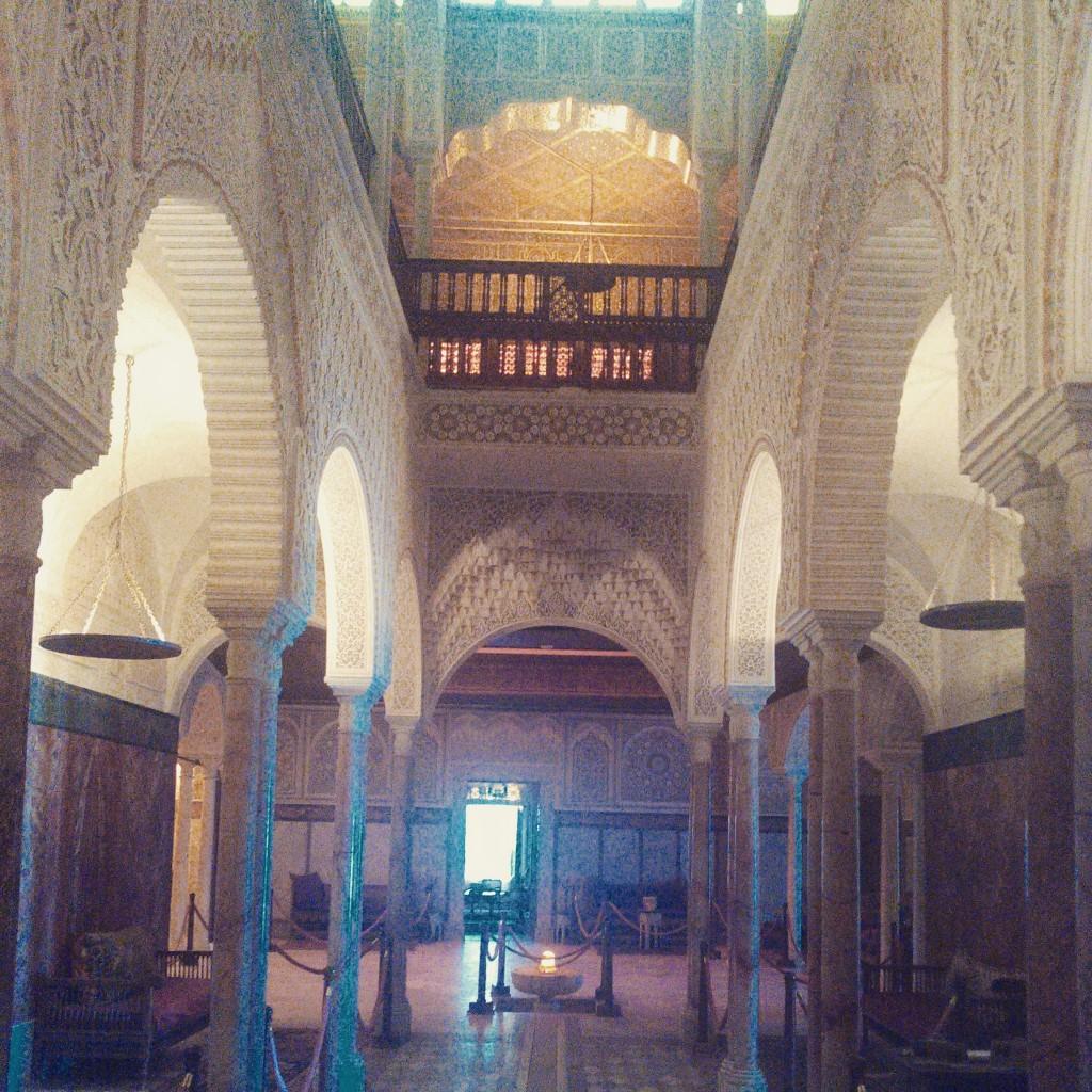 L'entrée du palais Sidi Bou Saïd Tunisie © Touristissimo