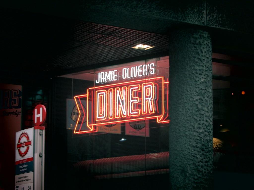 L'une des enseignes de Jamie Oliver à Londres©Touristissimo