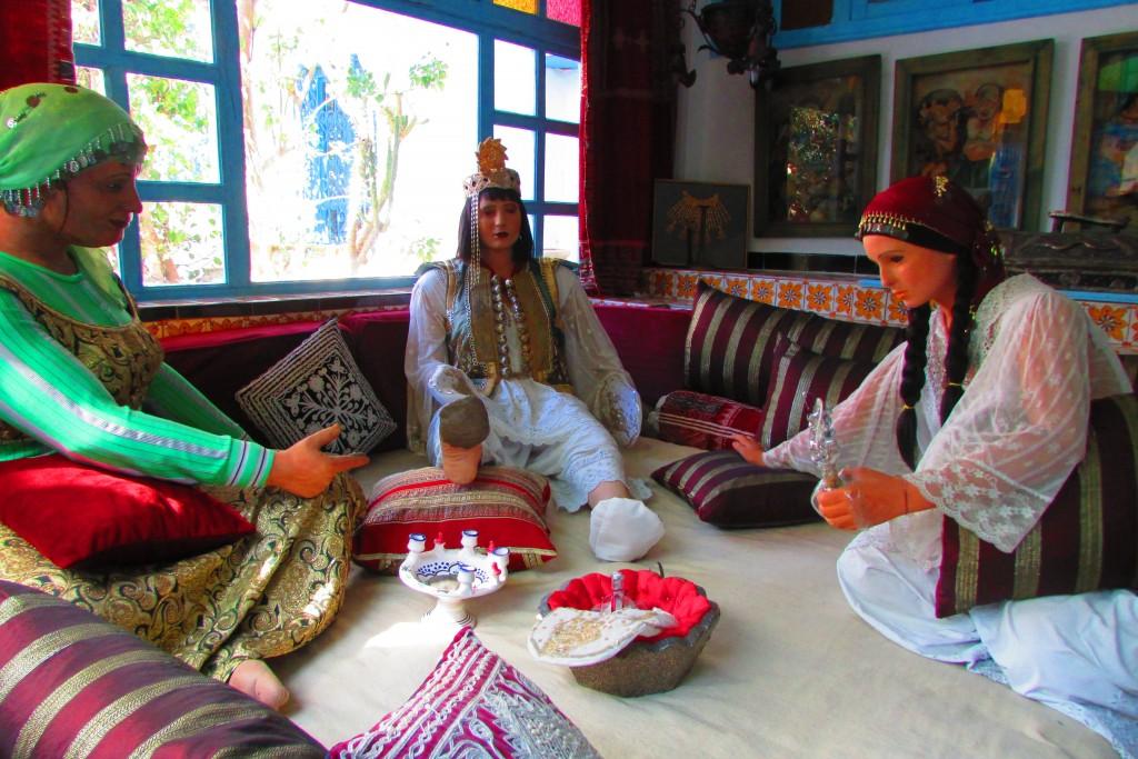 La pause du henné de la mariée Sidi Bou Saïd Tunisie © Touristissimo