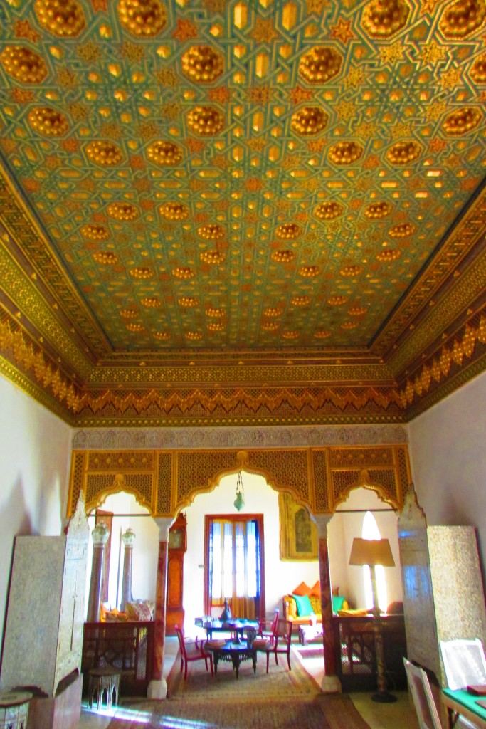 Une partie de la chambre du Baron Sidi Bou Saïd Tunisie © Touristissimo