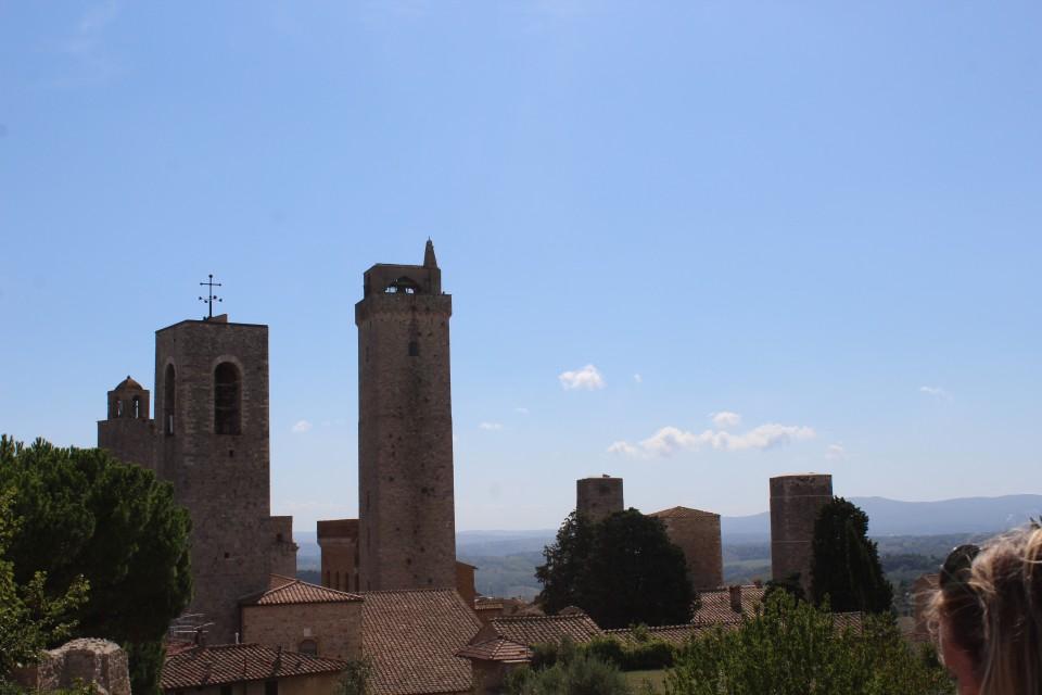 San Gimignano Italie Toscane