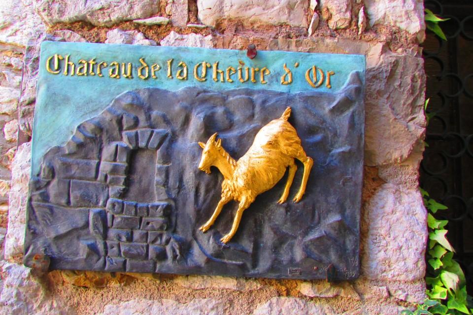 La chèvre d'or Eze village