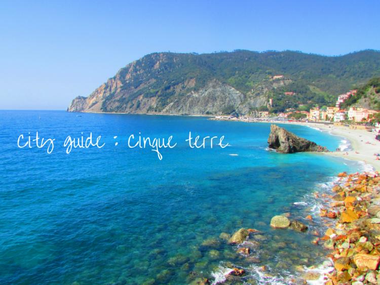 City guide _ Cinqueterre