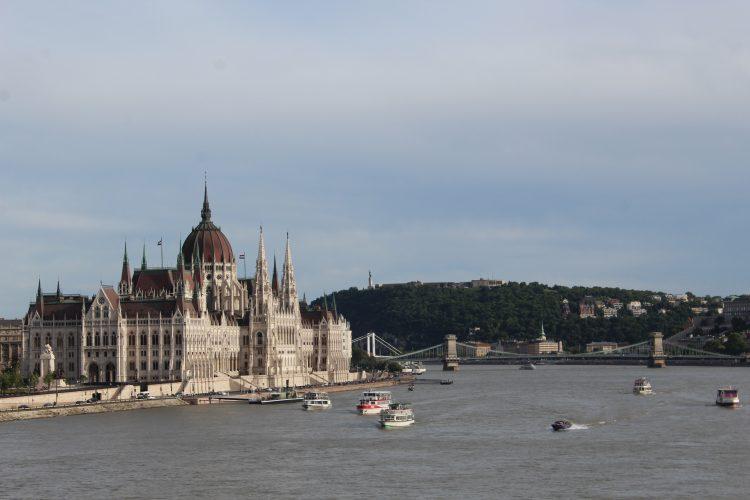 Le parlement Budapest Hongrie