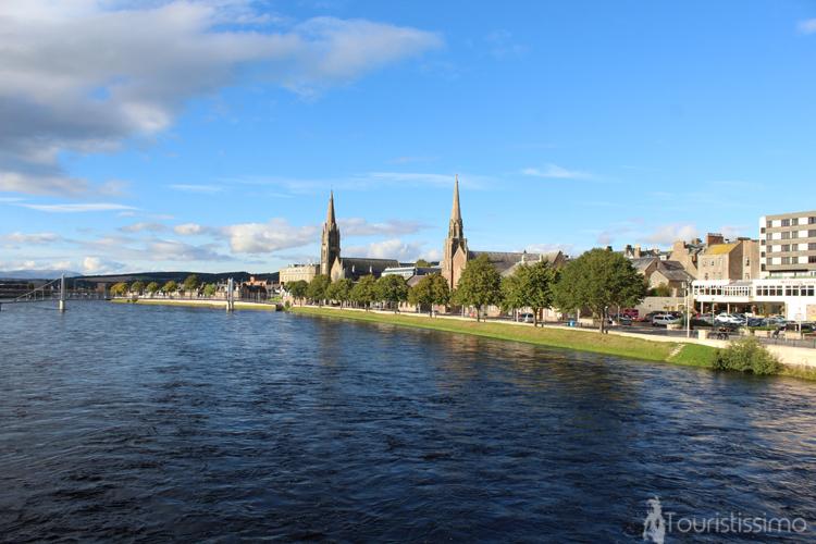 Centre-ville d'Inverness Ecosse