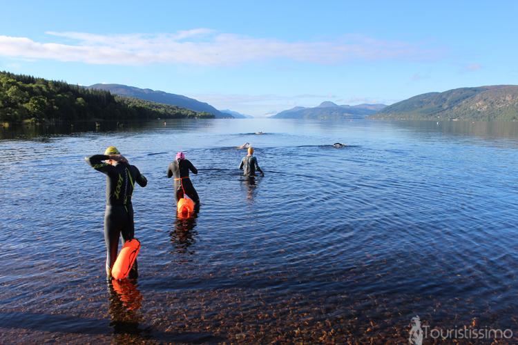 Le lac de Lochness à Inverness en Ecosse