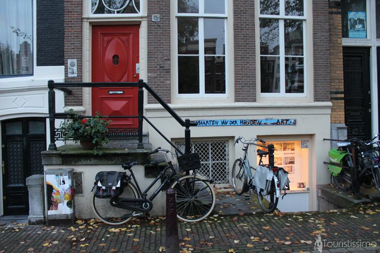 Les maisons à Amsterdam