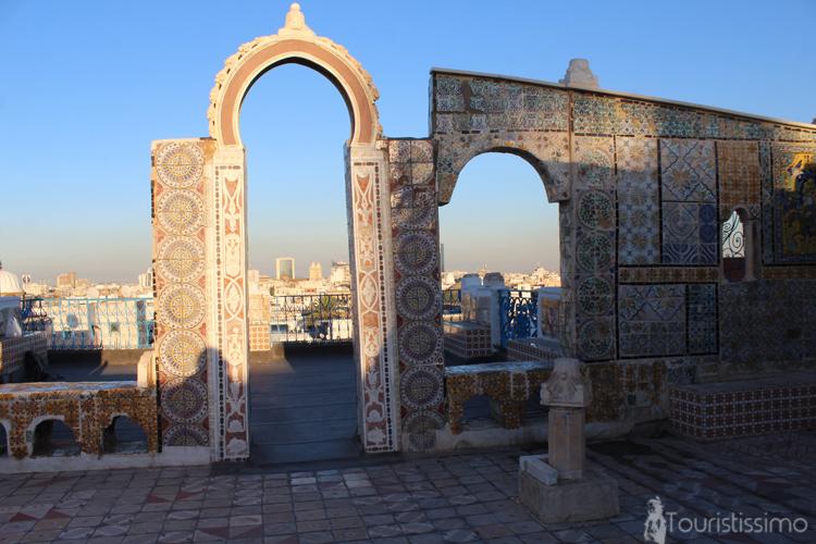 Terrasse panoramique à Tunis Tunisie