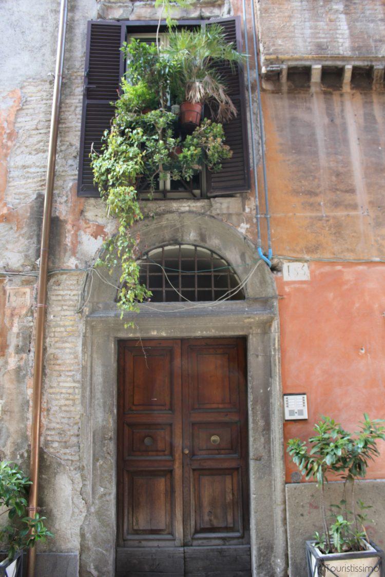 Les rues de Rome en Italie