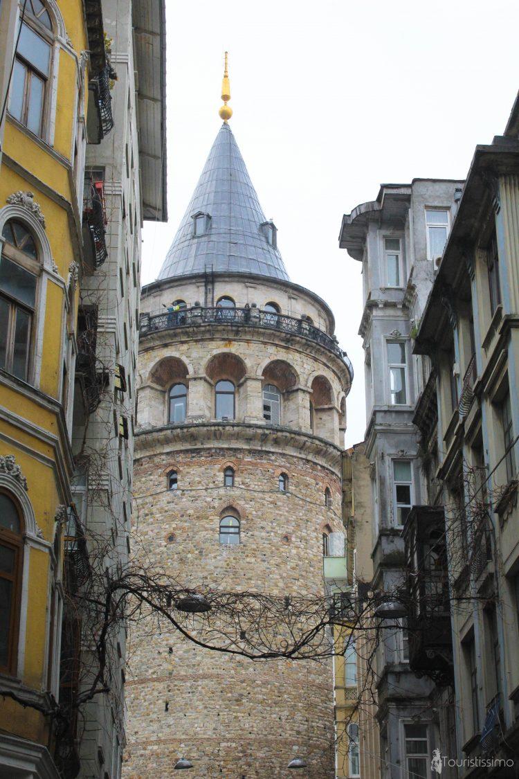 La tour Galata à Istanbul