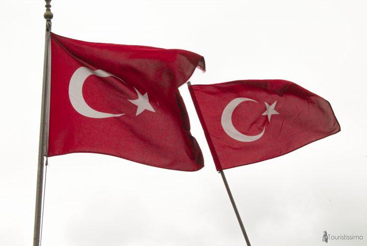 Drapeau Turc à Istanbul