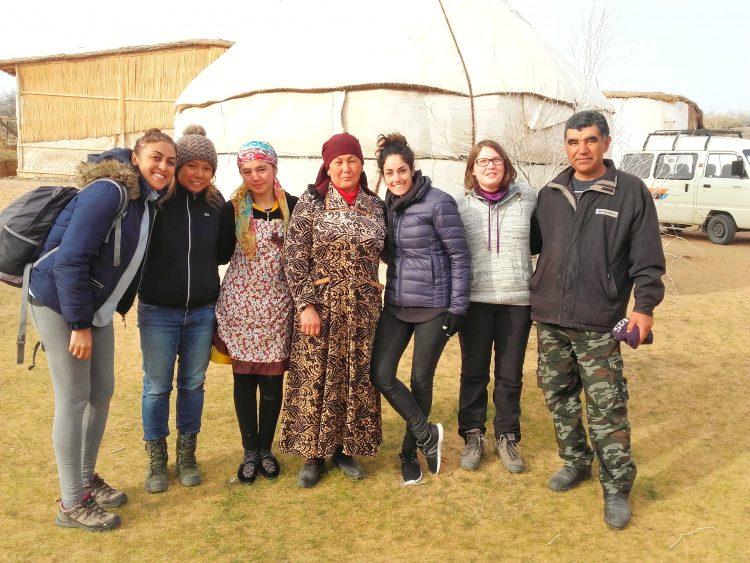Camel Camp au desert de Kyzyl Kum Ouzbékistan