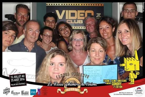 l'usine de cinéma Michel Gondry Cannes