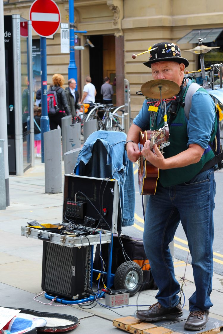 Buddy one man band Manchester