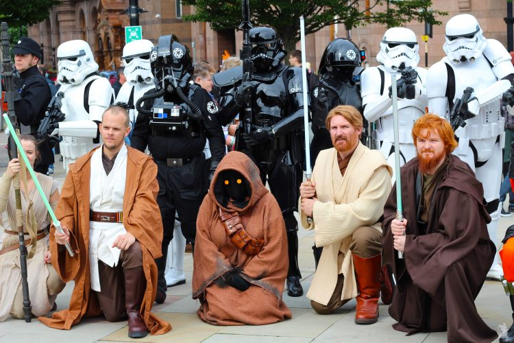 Comicon Manchester Stars Wars