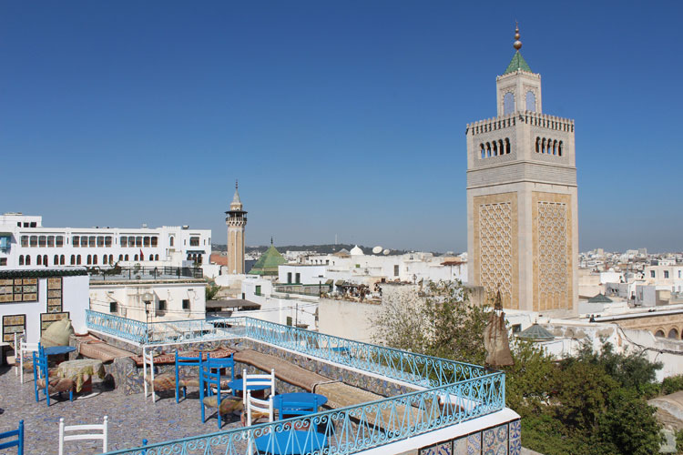 Mosquée Zitouna Tunis Touristissimo