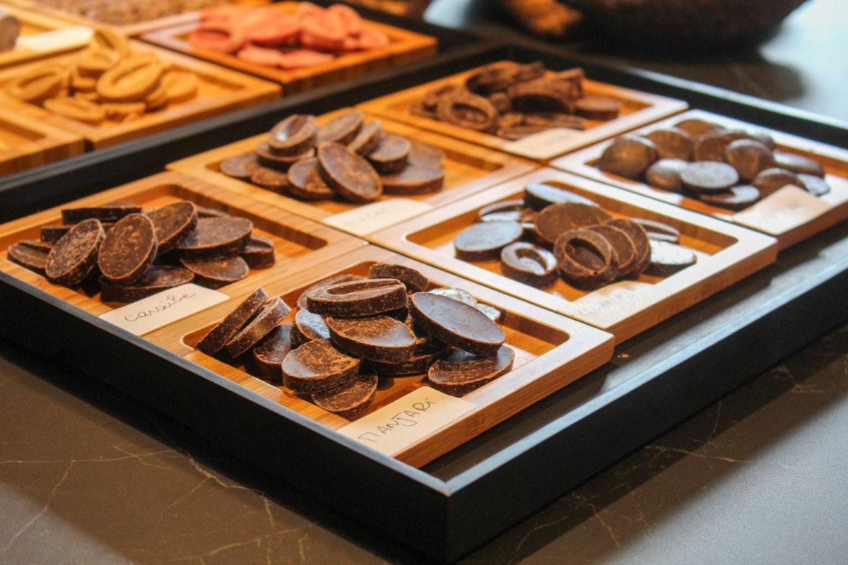 Les chocolats des patisseries Lac