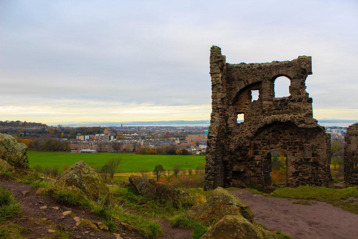 Arthur's seat Edimbourg