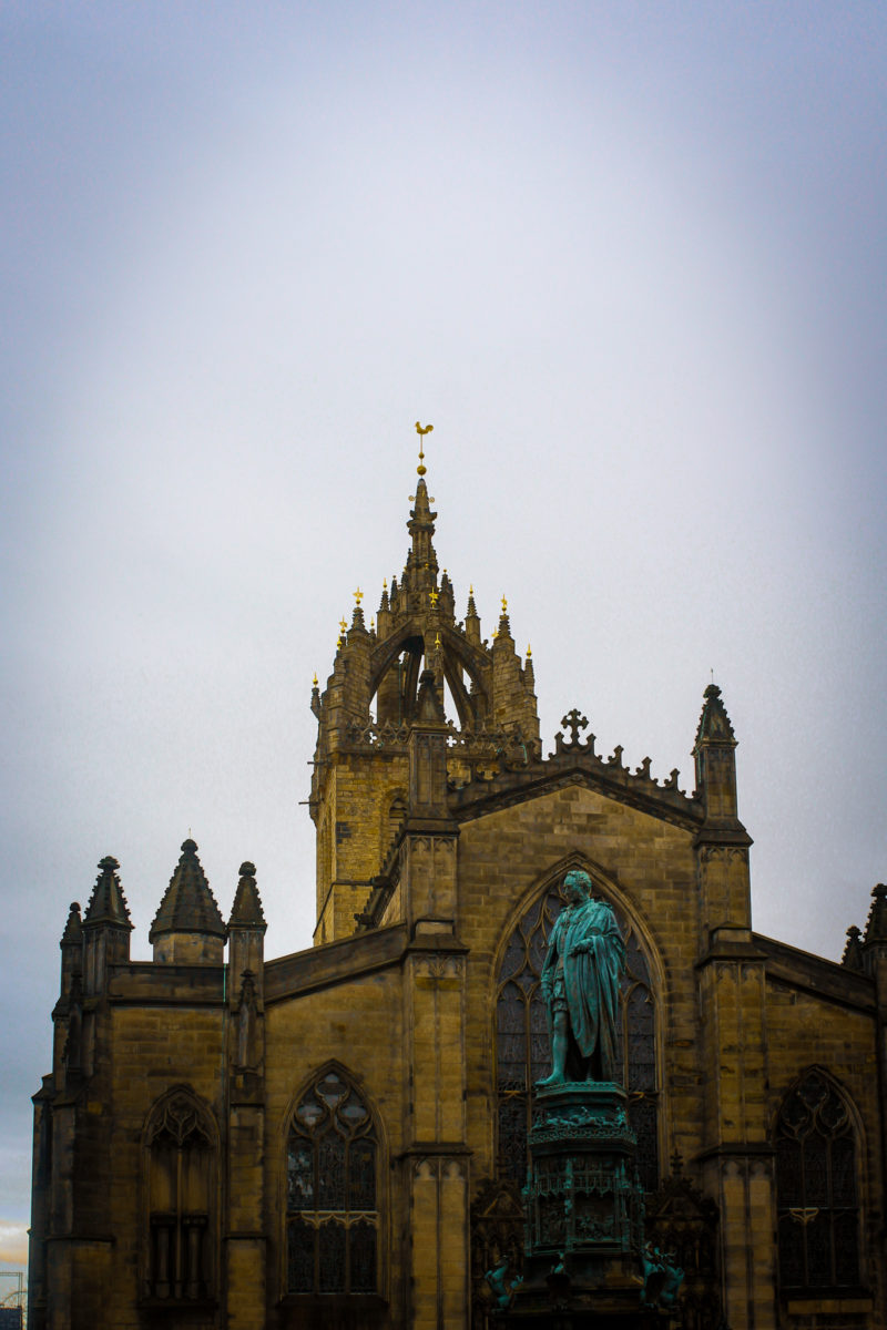 St Gile's Cathedral Edimbourg
